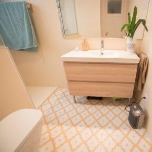 Reforma intengral del baño de un piso