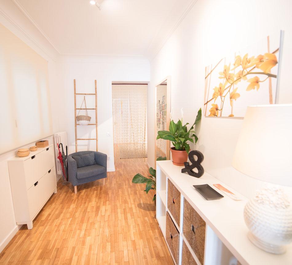 Entrada piso reformado