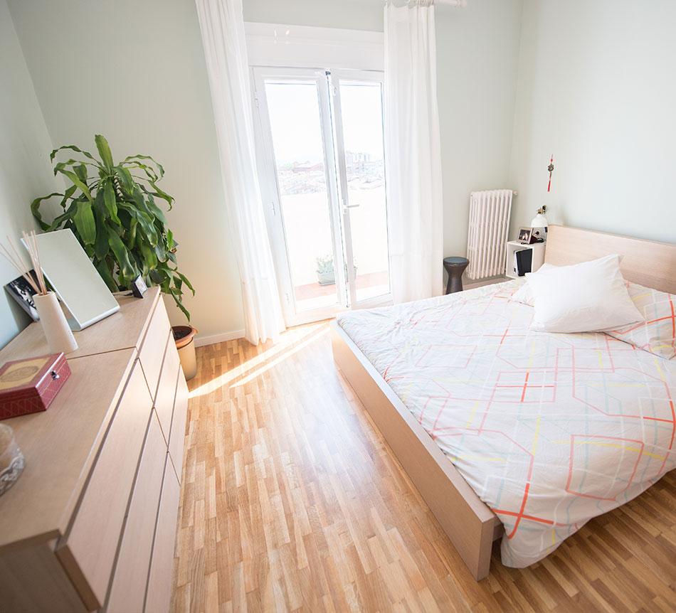 Reforma habitación de una casa